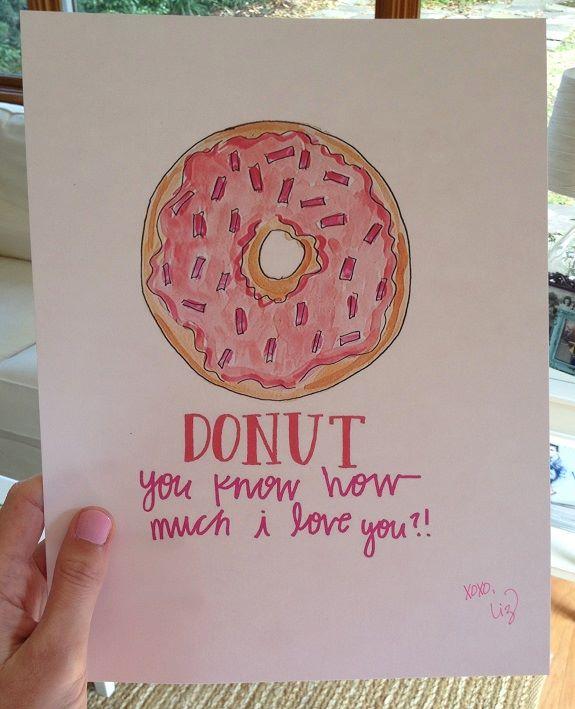 Evelyn Henson donut valentine