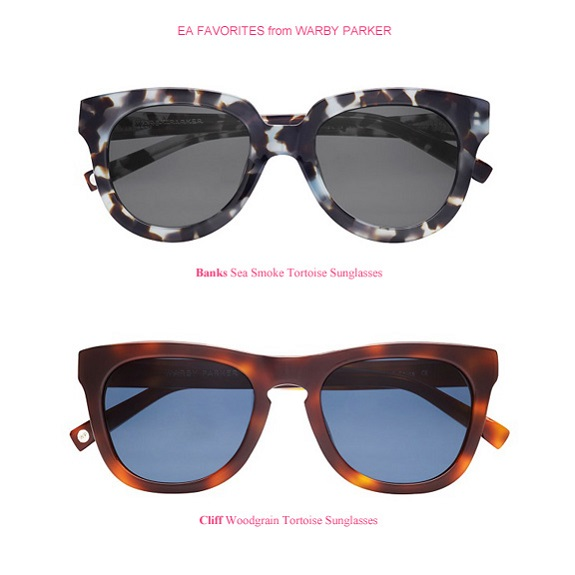EA Favorites from Warby Parker